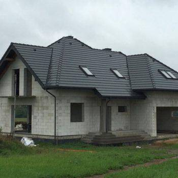 Dachówka płaska BRAAS TEVIVA Grafit