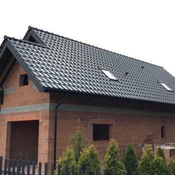 Dachówka KORAMIC ALEGRA 9 Czarna Glazura