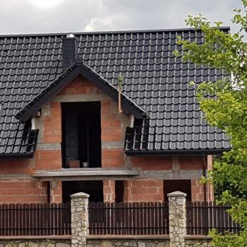 Dachówka CREATON Titania Czarna Glazura