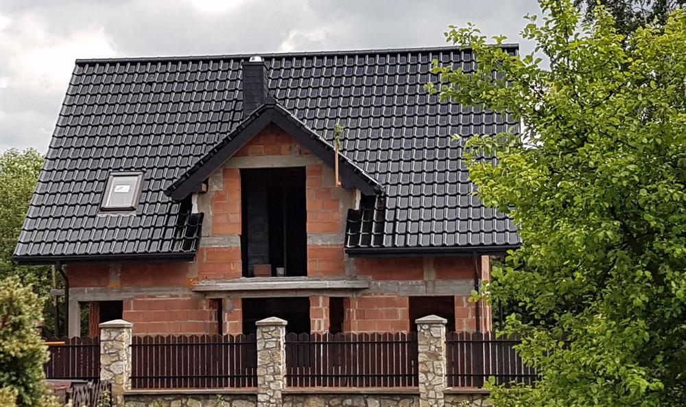 Ogromny czarny - Pekan - Dachy, Okna, Bramy, Drzwi, Rolety HQ35